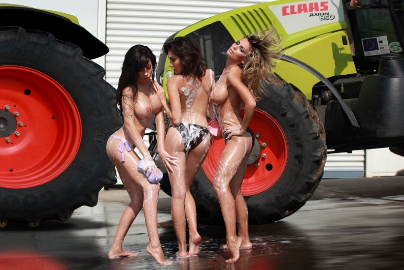 Sexy naked tractor babes all? final