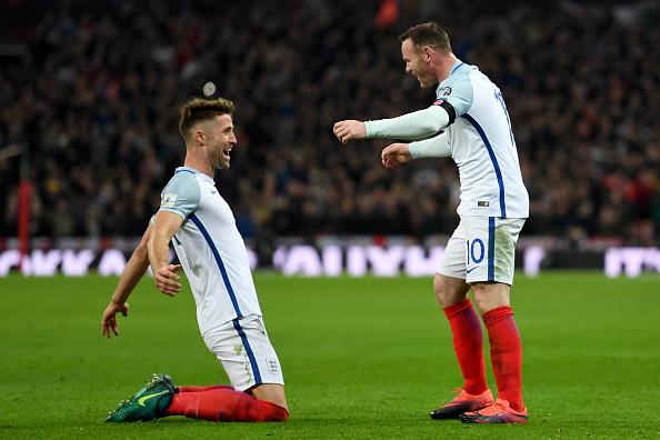 Англия Три гола с глава белязаха разликата в класите Англия и Шотландия 622476398